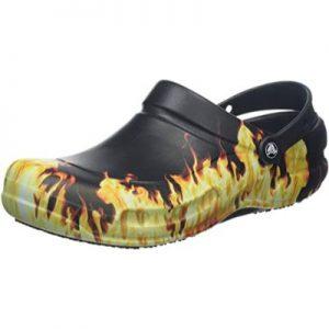 Crocs Bistro Graphic Clog llamas