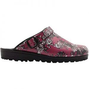 Sanita Footwear estampados Rosas